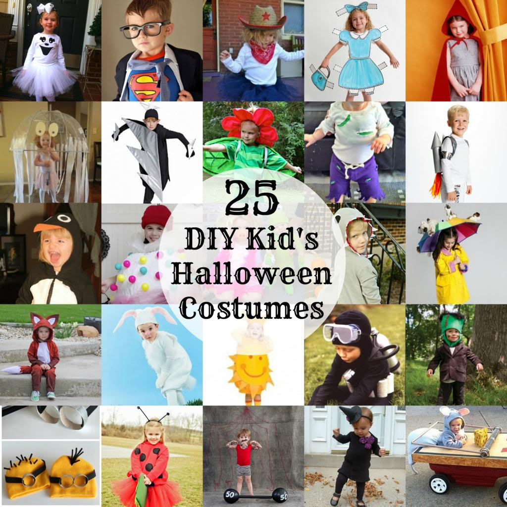 25+ DIY Halloween Costume Ideas for Kids: Child at Heart Blog