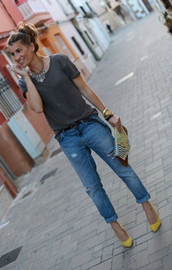 25 Ways to Wear Boyfriend Jeans