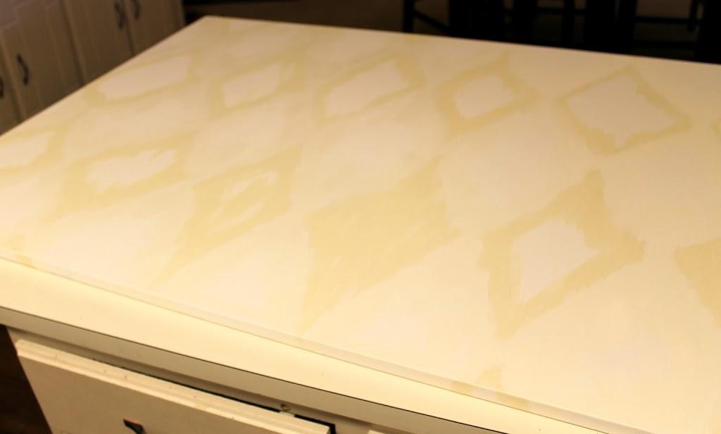 DIY Ikat Canvas Diamond Painting Tutorial