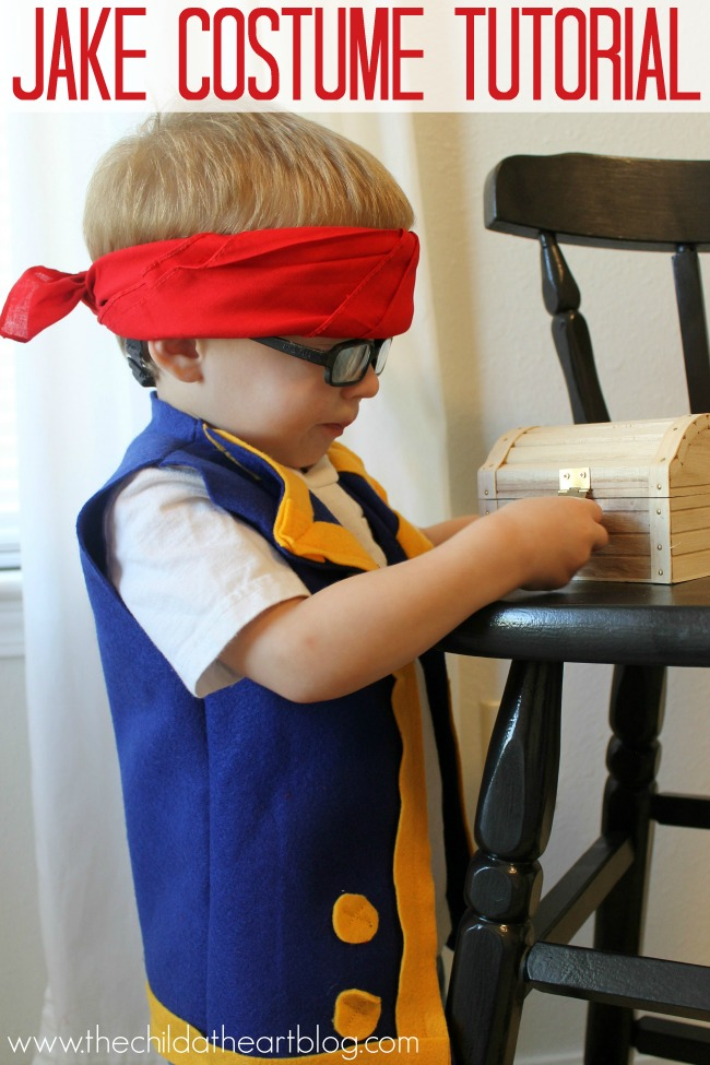 Jake & the Neverland Pirates Costume Tutorial