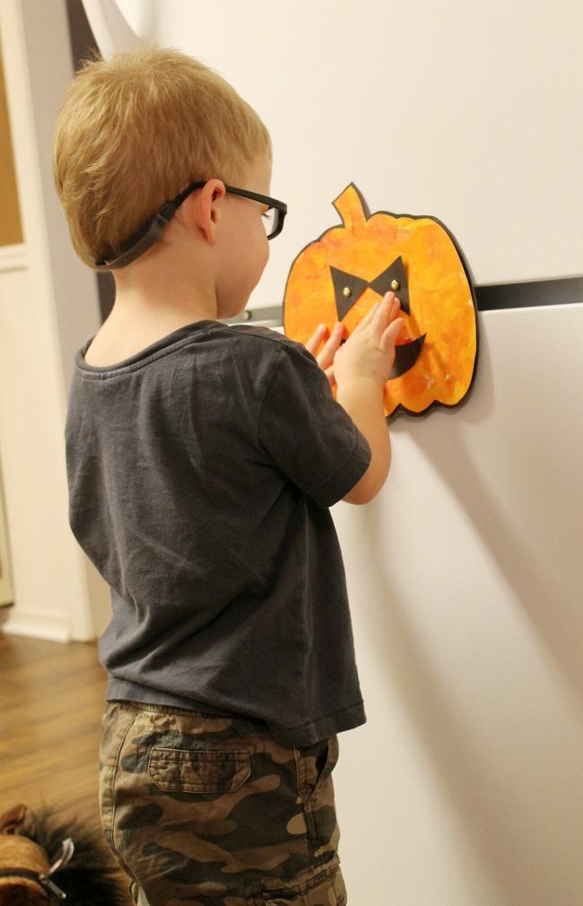 Jack O Lantern Toddler Craft