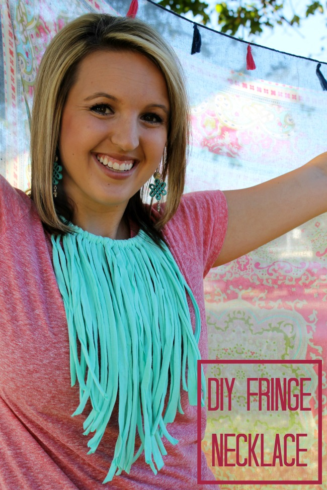 How to Make a Fringe Necklace in 5 Minutes