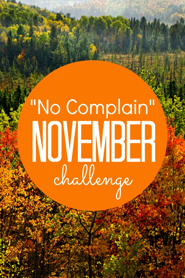 No Complain November