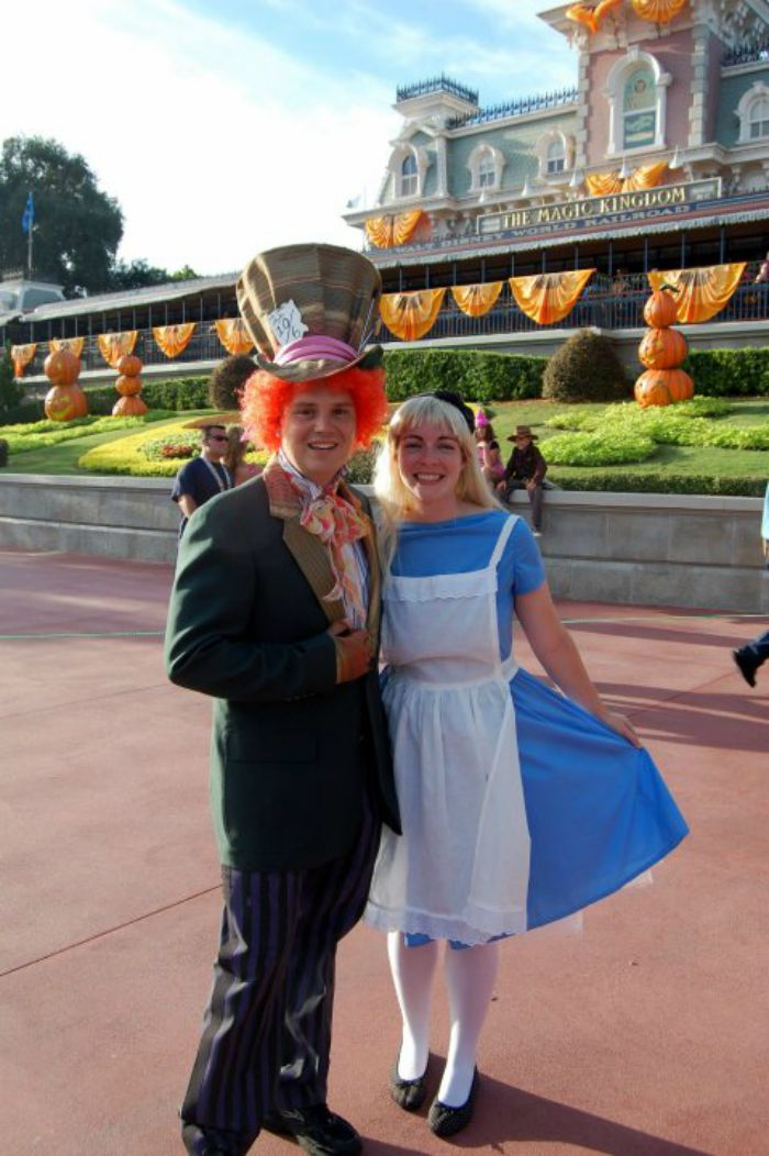 Mad Hatter and Alice and Wonderland DIY Halloween Costume Idea: Child at Heart Blog