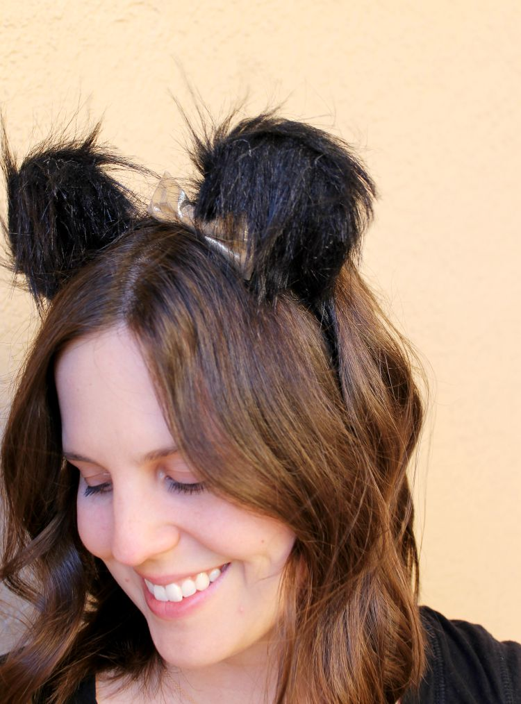 DIY Bear Ears Headband Tutorial: Child at Heart Blog