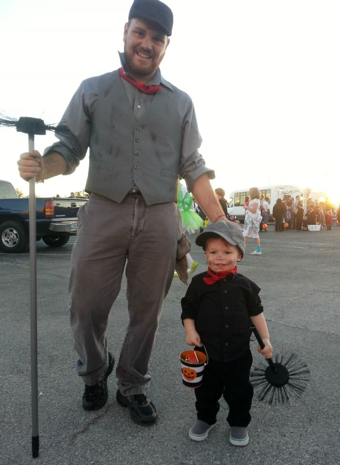 Mary Poppins and Chimney Sweeps Halloween Costume Idea: Child at Heart Blog