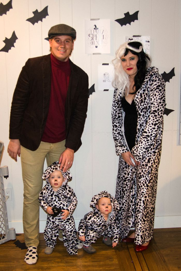 DIY 101 Dalmatians Costume Idea: Child at Heart Blog
