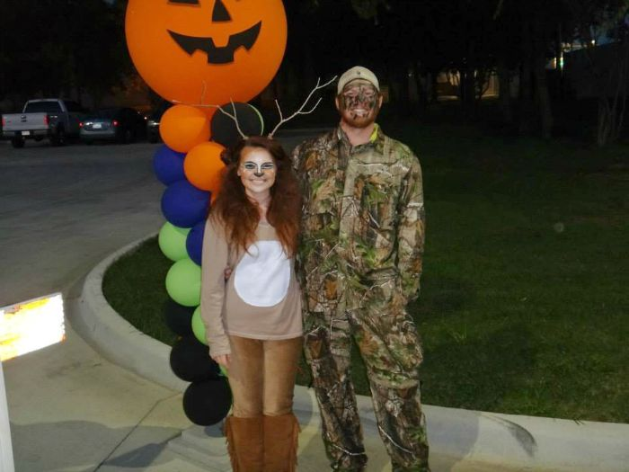 DIY Deer and Hunter Halloween Costume Idea: Child at Heart Blog