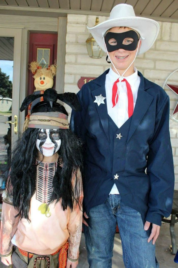 DIY Lone Ranger and Tonto Halloween Costume Idea: Child at Heart Blog