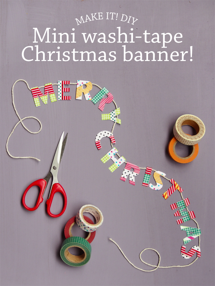 Washi Tape Christmas Ideas: Child at Heart Blog