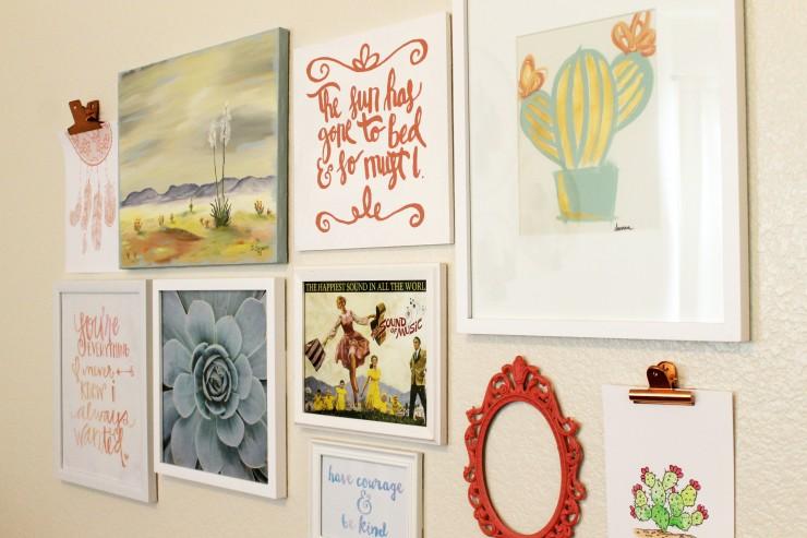 DIY Boho Southwest Inspired Baby Nursery: The Child at Heart Blog