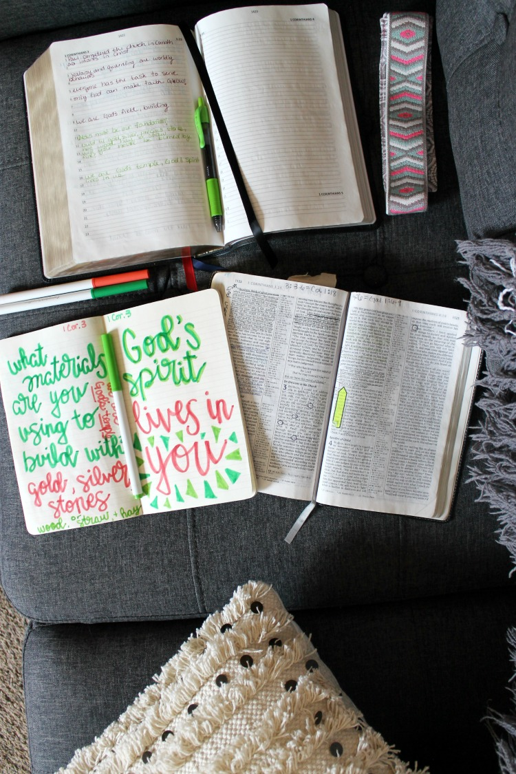 How to Start Bible Journaling : A Guide for Beginners and Non-Artists from the Child at Heart Blog