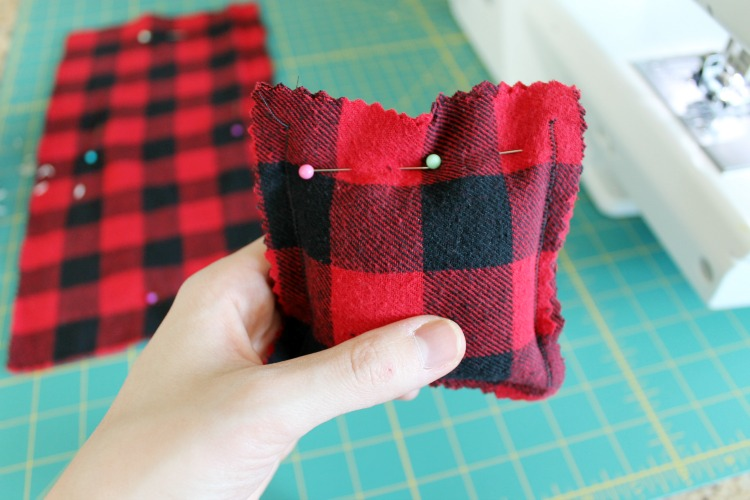 DIY Flannel Hand Warmers Upcycle Idea and Sewing Tutorial: the Child at Heart Blog