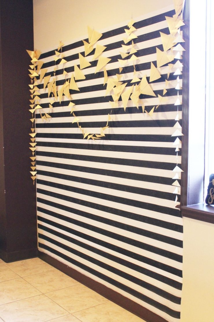 Black White and Gold 60th Birthday Party Decorating and Game Ideas: the Child at Heart blog