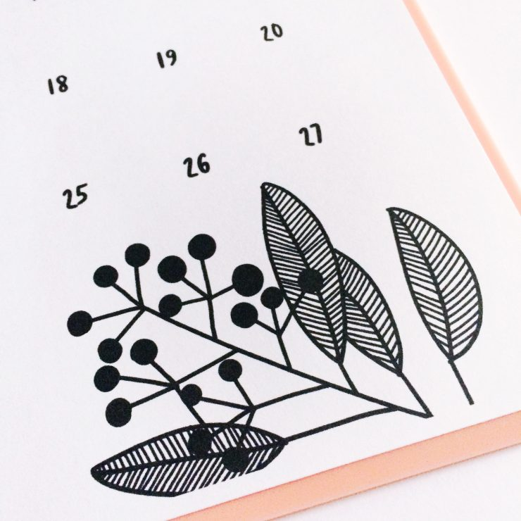 FREE May Hand Lettered Calendar: the Child at Heart blog