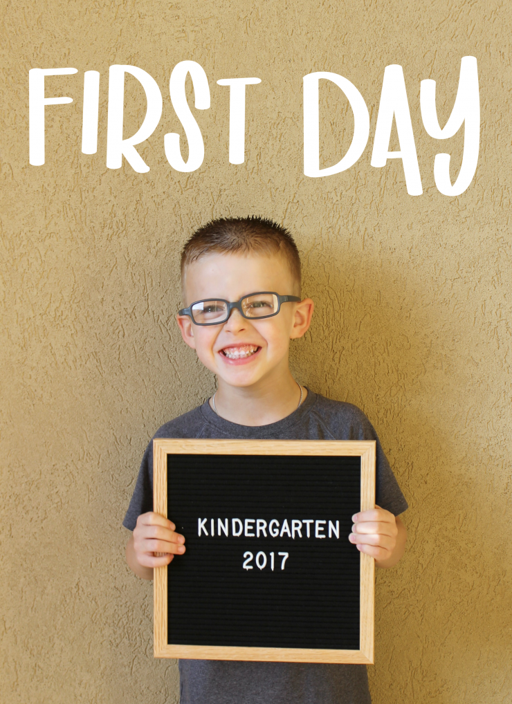 FREE Hand Lettered First Day of School Photo Overlays: the Child at Heart blog