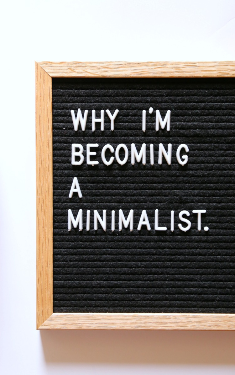 Why I'm Becoming a Minimalist and How to Start: the Child at Heart blog