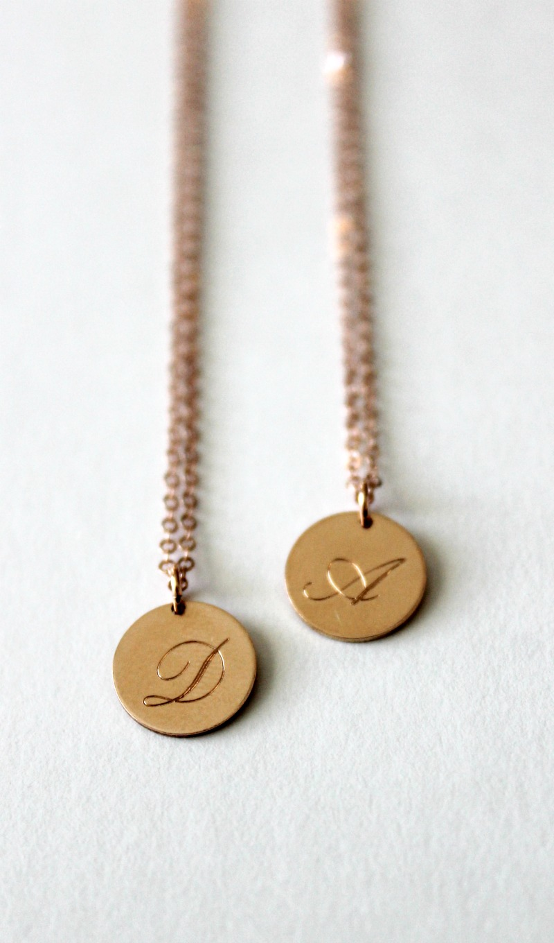 Mother Daughter Matching Necklaces Gift Idea with Monday Monarch