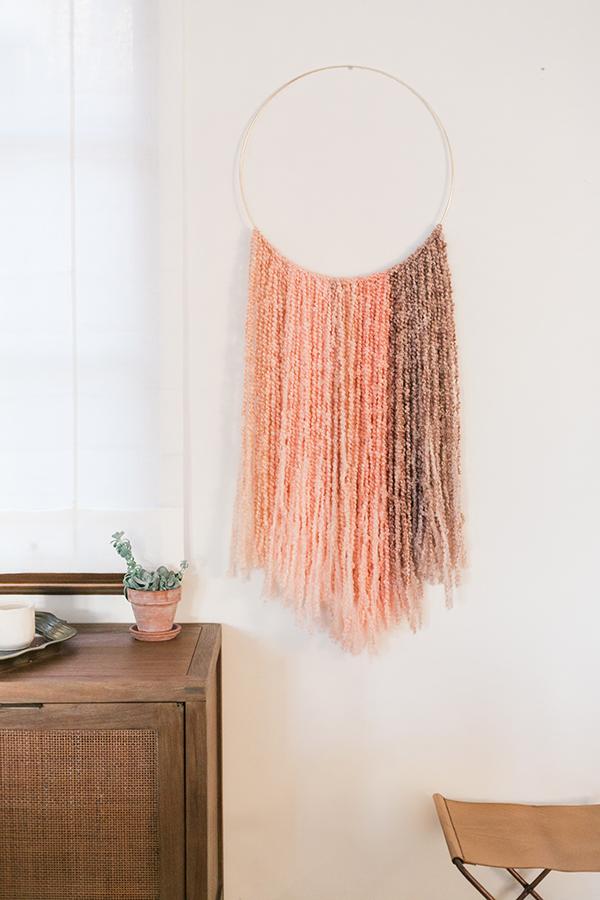 20 Easy Diy Yarn Art Wall Hanging Ideas Deonna Wade